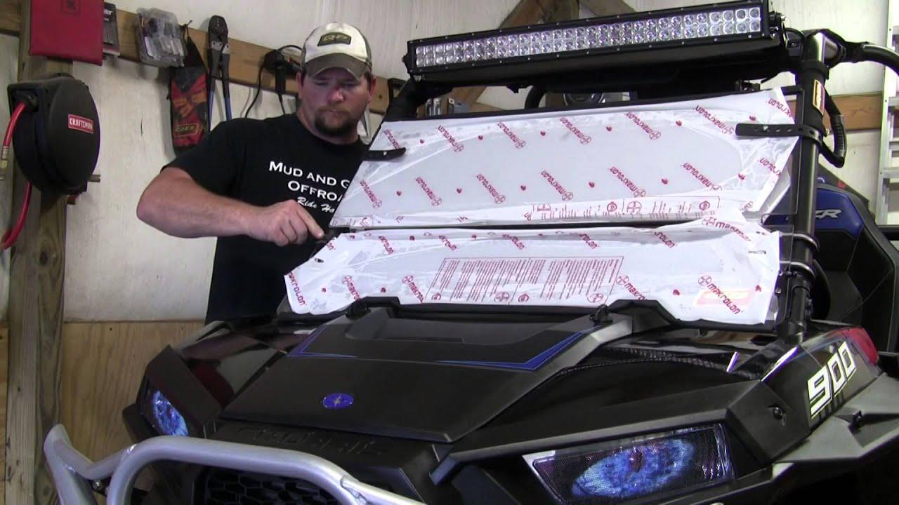 Quad Boss TUCK100-0007 Folding Windshields