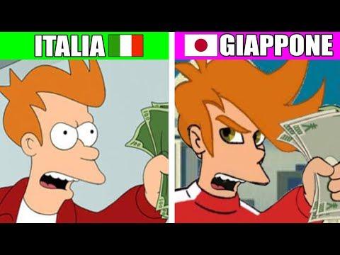 COME CAMBIANO I MEME IN GIAPPONE 🇯🇵 ITALIA vs GIAPPONE