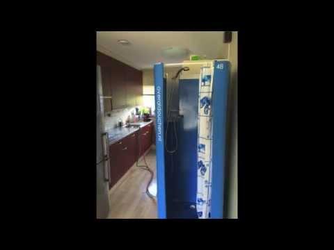 Tijdelijke Mobiele Badkamer : Tijdelijk een mobiele nooddouchecabine huren tijdens badkamer