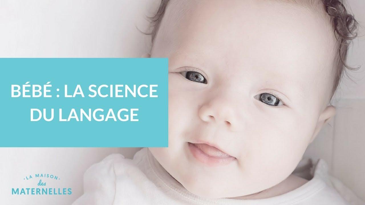 Bébé   la science du langage - La Maison des Maternelles  LMDM - YouTube 5021154a3b6