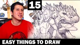 Sketchbook Session Page 15 | Easy Things To Draw