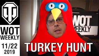 World of Tanks Weekly #143 - Turkey Hunt