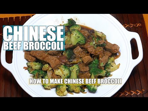 How to make Beef Broccoli - Beef Broccoli  - Chinese Beef Broccoli - Easy Beef Broccoli