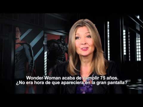 Batman v Superman: El Amanecer de la Justicia - Entrevista a Deborah Snyder (Productora)