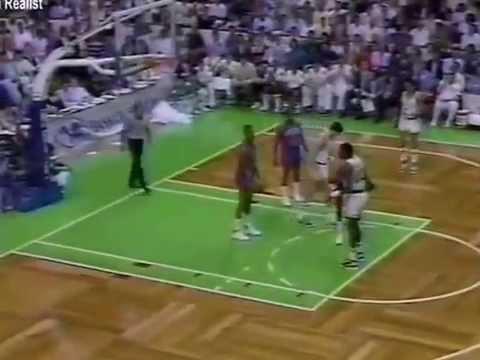 1987 NBA ECF BOS DET  Game 1