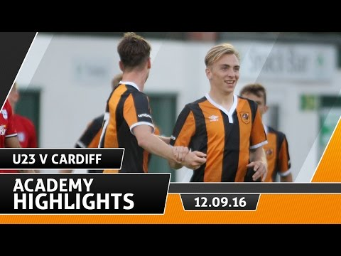The Tigers 2 Cardiff City 1 | Dev Squad Goals | 12.09.16
