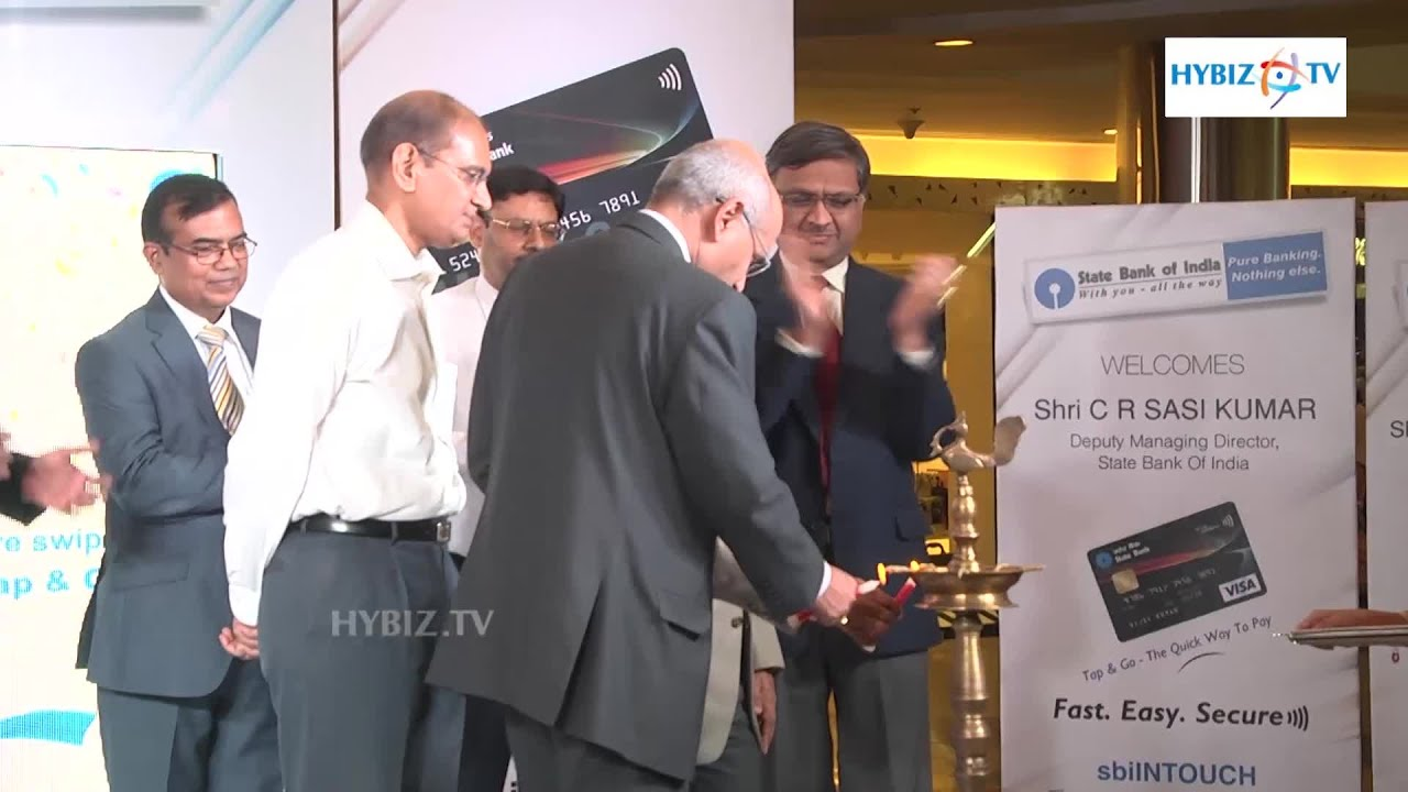 State Bank of India Intouch Tap & Go Debit Card Launches Sasikumar ...
