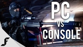 PC vs CONSOLE - Battlefield 4 Multiplayer Gameplay
