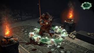 Path of Exile: Bone Aura Character Effect