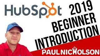 Hubspot CRM Free Beginner Training Tutorial 2019