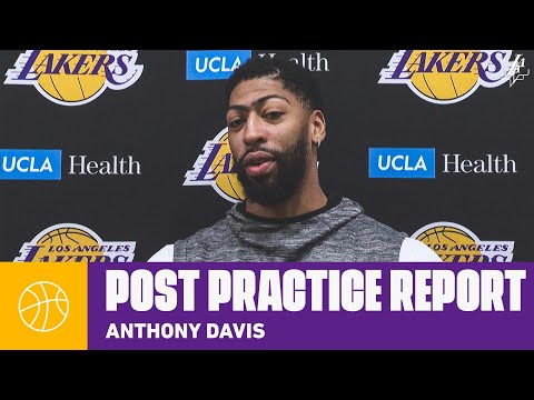AD Discusses The Impact Of Alex Caruso | Lakers Practice Report