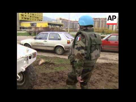BOSNIA: 2ND FRENCH PEACE KEEPER KILLED IN SARAJEVO