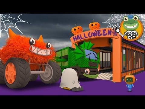 Big Spooky Trucks at Gecko's Garage | Halloween Special