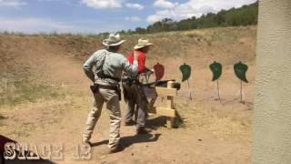 SASS EOT 2016 - Oklahoma Dee - Shooting the 49R category