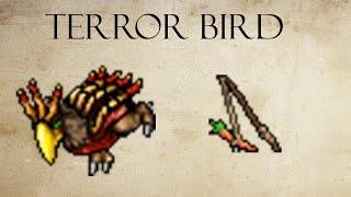 Tibia - Como domar o Terror Bird [Montaria]