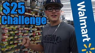 $25 Walmart Fishing Challenge!!! (You Won't Believe It!)
