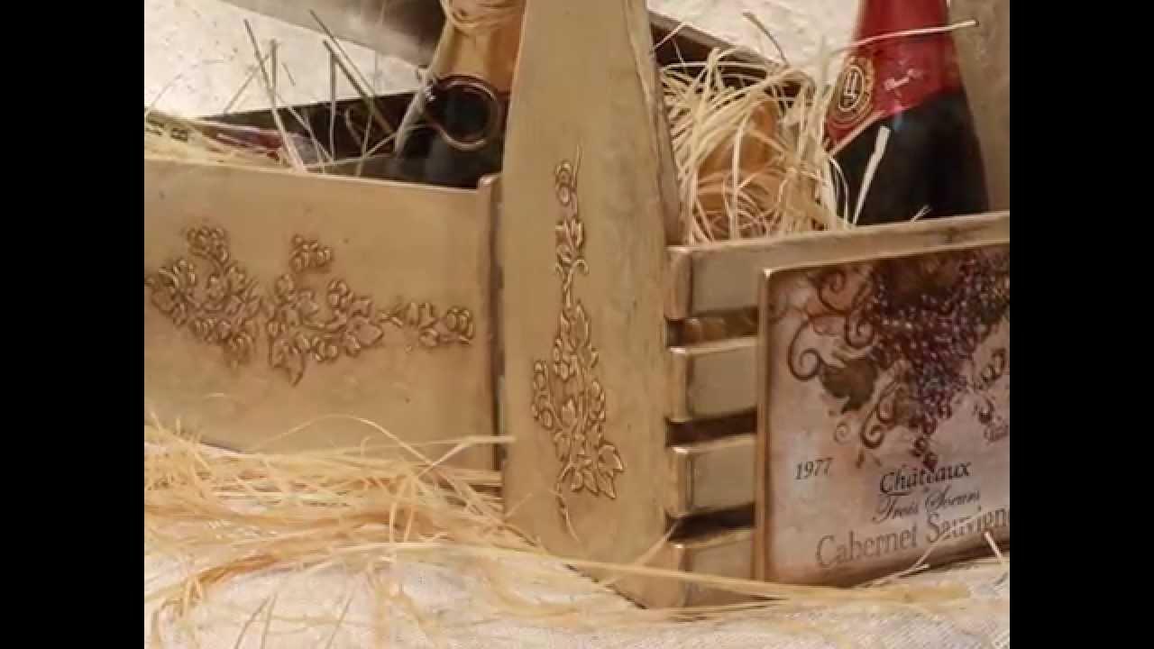 Коробки для вина - YouTube