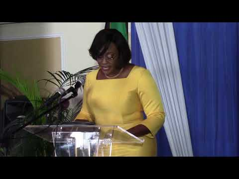 Mrs. Juliet Holness places State of the World Population Report within Jamaica's fertility context
