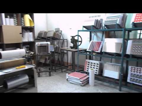 Offset printing and epoxy doming @ QCS china factory