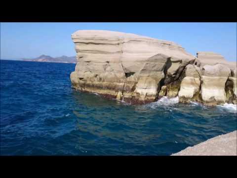 GREECE MILOS TOP 10 BEST BEACH