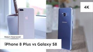 iPhone 8 Plus vs. Samsung Galaxy S8 Porównanie zdjęć | Robert Nawrowski
