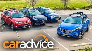 2015 Medium SUV Comparison Review : Tucson, RAV4, CX-5, Forester