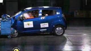 2016 Chevrolet Spark Side Crash Test