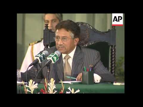 Musharraf promises to arrest leaders of banned extremist groups
