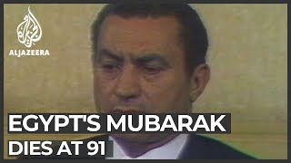 A look back on Mubarak's life