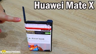 Huawei Mate X: We Touched & it's Good!