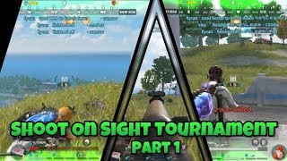 SOS Tournament Elimination Round - Rules of Survival | Tournament
