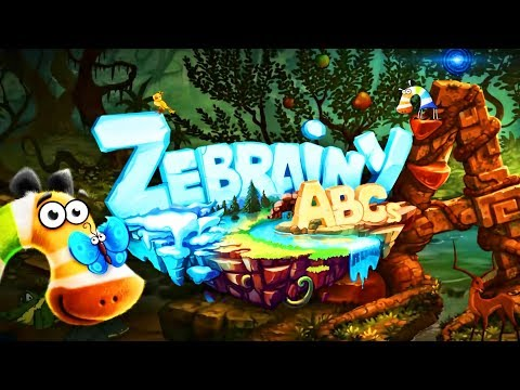 Zebrainy ABCs - New ABC Learning Game Zebrainy | Fabulous A-Z Worlds For Kids | Android Kids App