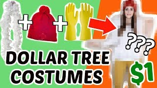DIY Dollar Tree Halloween Costumes