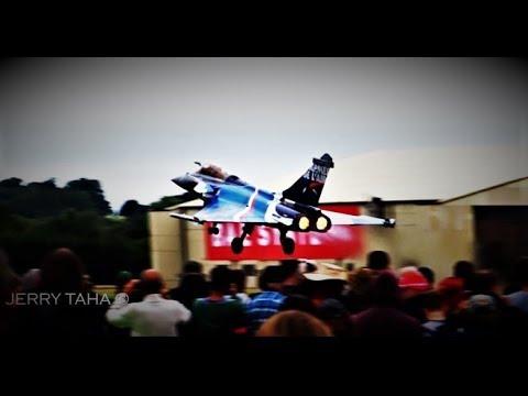 SPECTACULAR Take off French AF RAFALE C @ RIAT 2017 @ Fairford AB