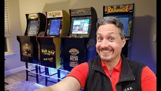 Arcade1up retro gaming cabinets... for the win!