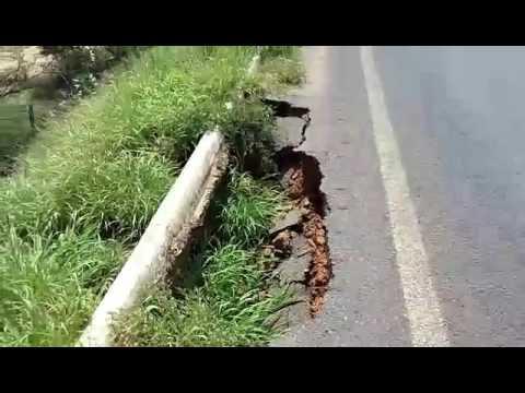 Lapa: vídeo denuncia risco para os usuários da BR 349, na saída para Santa Maria da Vitória