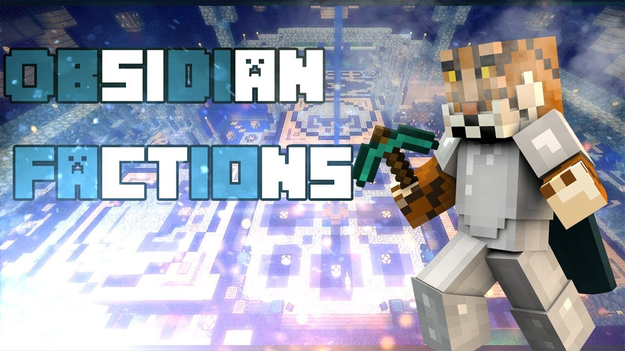 Minecraft Xbox One Pe Win 10 Obsidian Factions Server