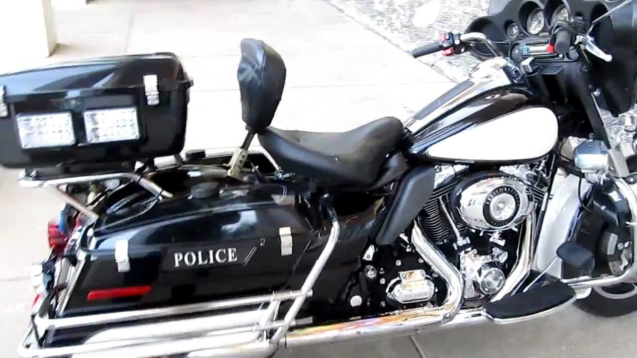 Harley Davidson Police Motorcycles For Sale