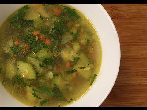 Суп постный с сельдереем