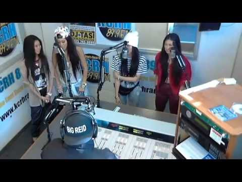 The Jazmin Sisters Live on KCRH 89.9 FM's The Mid Day Mix Up!!