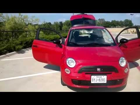 Tricked Out Fiat 500 With Plasti Dip