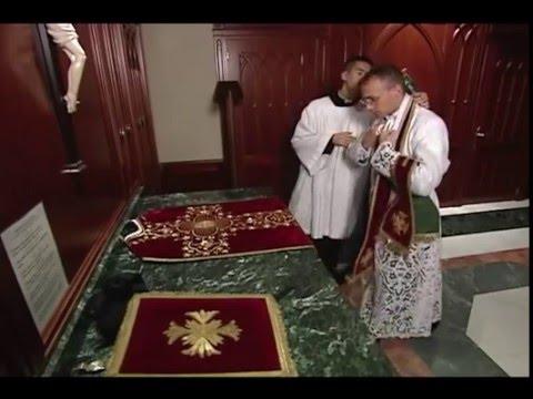 Vesting of a Catholic Priest