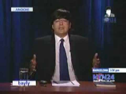 Bayly analiza la pronunciación en inglés de Correa, Uribe y Micheletti   Nuestra Tele Noticias 24