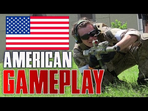 American Airsoft Gameplay at D14 Texas USA