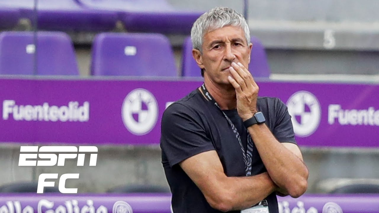 Should Quique Setien be sacked if Barcelona don't win Champions ...