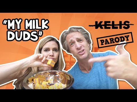 """My Milk Duds"" Halloween Parody, Kelis - ""Milkshake""// The Holderness Family"