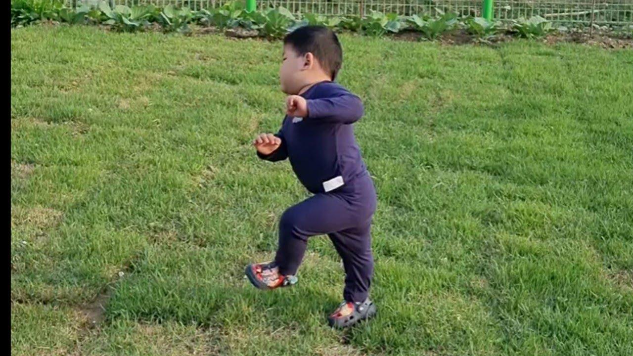발달장애  하임이가 처음으로 신발 신은 날