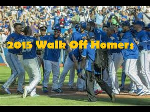 2015 Walk Off Homers