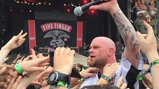Five Finger Death Punch; Download Festival 2015: Lift me Up/ Burn MF Burn
