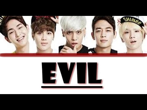 SHINee (샤이니) - Evil (COLOR CODED LYRICS)